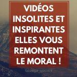 Vidéos insolites et inspirantes : elles vous remontent le moral !