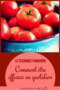 La technique pomodoro : comment être efficace au quotidien