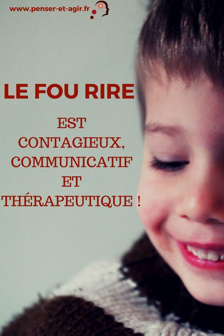 Le fou rire est contagieux, communicatif et thérapeutique !  Se soigner grâce au rire et au fou rire c'est possible ! Le rire est contagieux, communicatif et thérapeutique : voilà la preuve en vidéo !