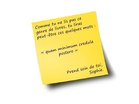 Le post-it de Sophie