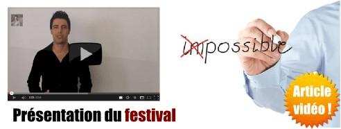 Présentation du festival « 5 jours pour changer »