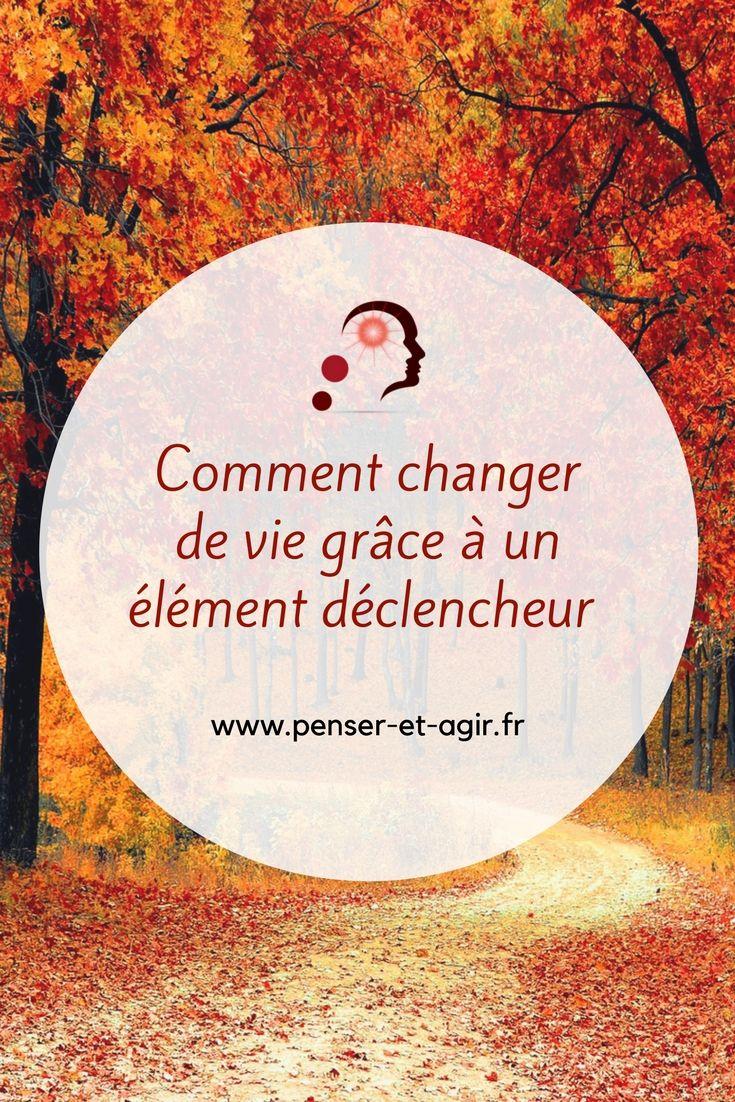 Comment changer de vie grâce à un élément déclencheur ?  Comment un simple événement peut vous permettre de changer de vie ? Découvrez l'importance de l'élément déclencheur et du choix qui vous fera changer de vie