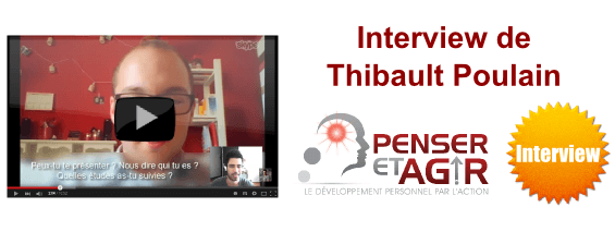 Interview de Thibault Poulain