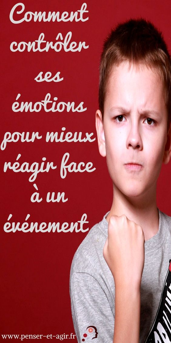 Comment contrôler ses émotions pour mieux réagir face à un événement ?  Apprendre à contrôler ses émotions est indispensable pour votre bien-être quotidien. Cette méthode simplissime en 3 étapes va vous y aider !