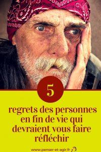 5 regrets des personnes en fin de vie qui devraient vous faire réfléchir
