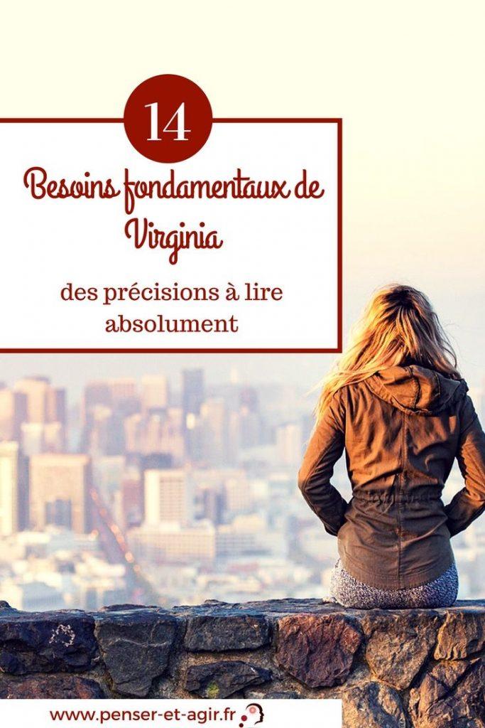 14 besoins fondamentaux de Virginia : des précisions à lire absolument