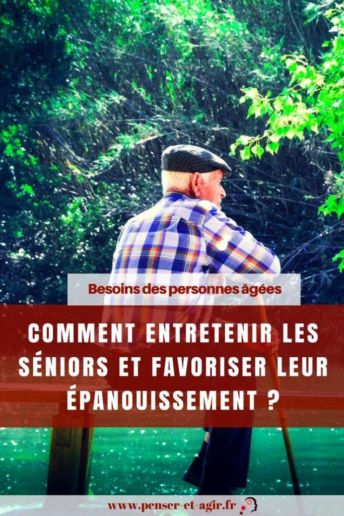 Besoins des personnes âgées : comment entretenir les séniors et favoriser leur épanouissement ?