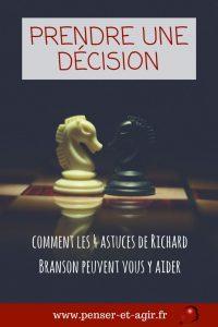 Prendre une décision : comment les 4 astuces de Richard Branson peuvent vous y aider ?