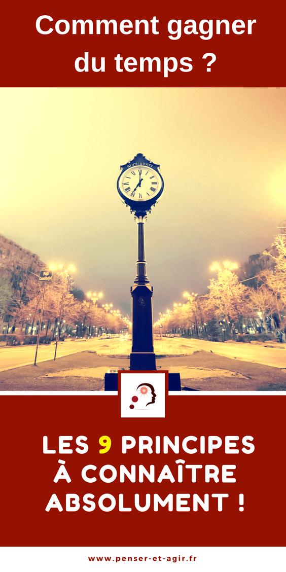 Comment gagner du temps? Les 9 principes à connaître absolument!  Gagner du temps peut s'avérer très difficile voir quasi impossible si on ne sait pas par où commencer. Découvrez la pyramide de l'efficacité composée de 9 principes à connaître absolument pour gagner du temps sur le long terme. Les 3 premiers principes sont les plus importants, ne les négligez pas !
