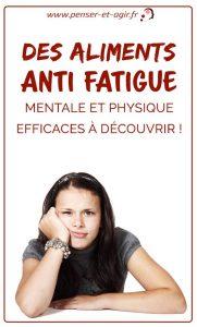 Des aliments anti fatigue mentale et physique efficaces à découvrir !