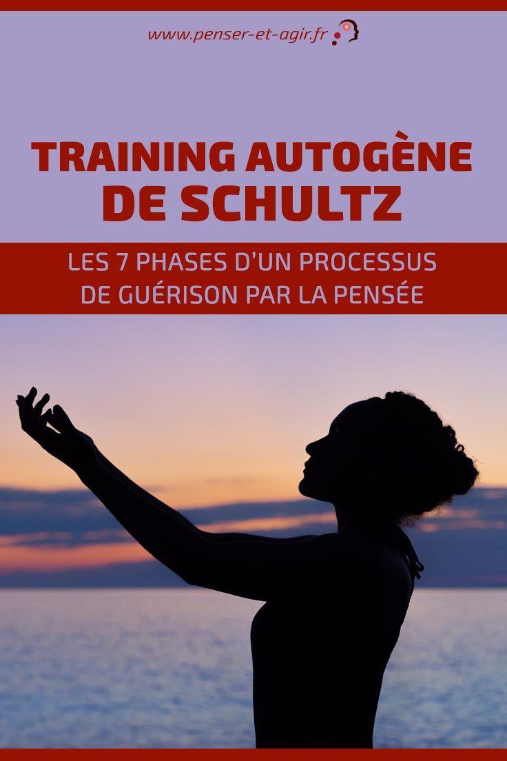 Training autogène de Schultz: les 7 phases d'un processus de guérison par la pensée  Voici les 7 phases essentielles du training autogène de Schultz. Cette technique, lorsqu'elle est maitrisée peut lutter contre le stress, la fatigue et...