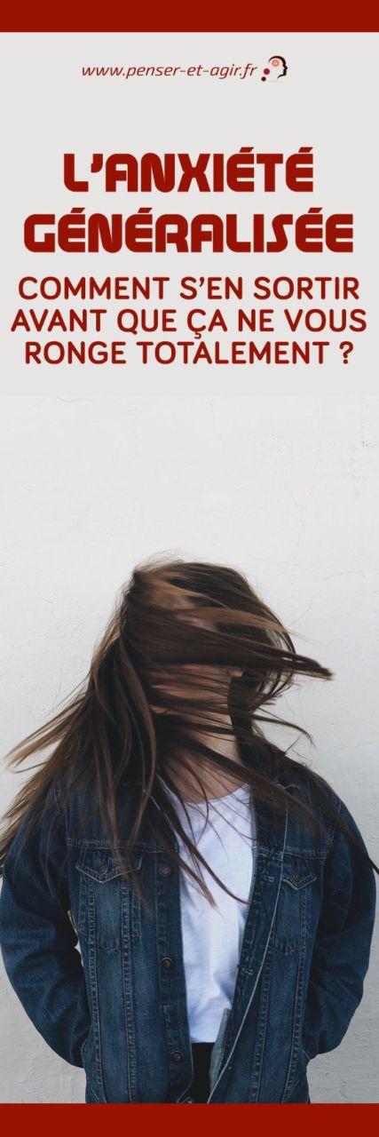 L'anxiété généralisée, comment s'en sortiravant que ça ne vous ronge totalement ?  L'anxiété généralisée qui touche femmes et les hommes est un trouble qu'on néglige. Pourtant, il est dangereux et on peut le soigner à condition de...