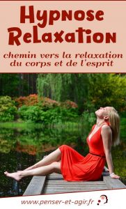 Hypnose relaxation, chemin vers la relaxation du corps et de l'esprit