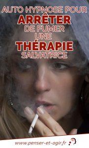 Auto hypnose pour arrêter de fumer, une thérapie salvatrice