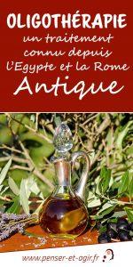 Oligothérapie : un traitement connu depuis l'Egypte et la Rome antique