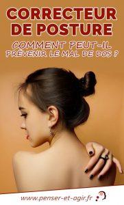 Correcteur de posture : comment peut-il prévenir le mal de dos ?