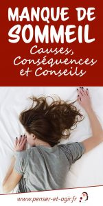 Manque de sommeil : Causes, conséquences et conseils