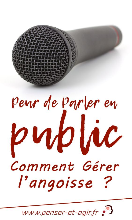 Peur de parler en public : comment gérer l\'angoisse ?  Au travail ou en privé, certains sont paralysés par la crainte de prendre la parole. Pourtant, on peut vaincre la peur de parler en public. La réponse, ici.