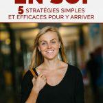 Croire en soi: 5 stratégies simples et efficaces pour y arriver