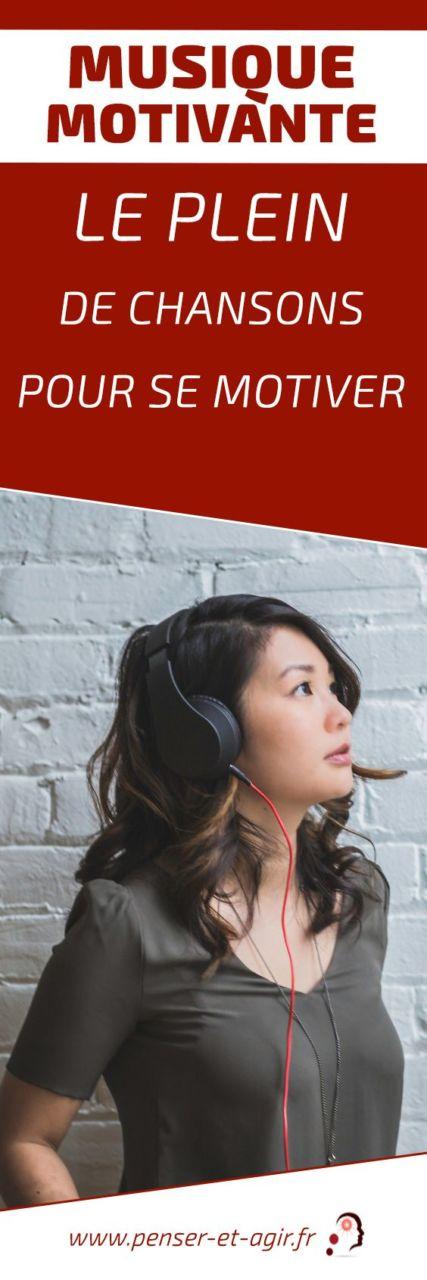 Musique motivante : le plein de chansons pour se motiver  Rien ne vaut une bonne sélection de musique motivante et stimulante pour booster à votre journée et faire le plein d'énergie et de motivation.