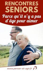 Rencontres seniors : parce qu'il n'y a pas d'âge pour aimer