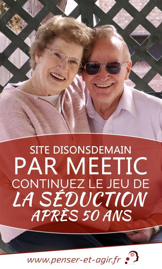 Site DisonsDemain par Meetic : continuez le jeu de la séduction après 50 ans  Le site disons demain est le dernier né de meetic destiné aux célibataires seniors. Facile à utiliser, il répond aux attentes des plus de 50 ans.