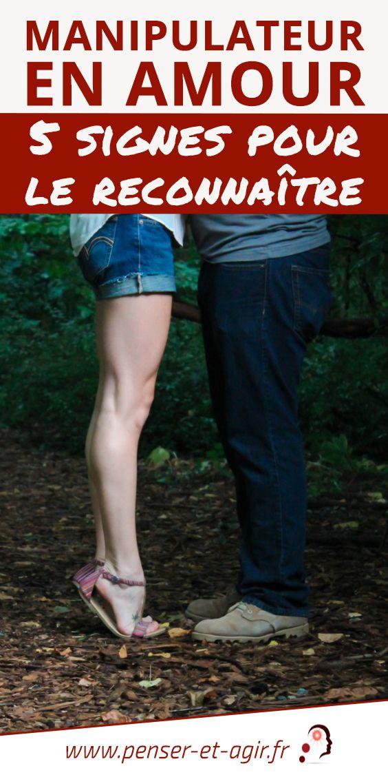 Manipulateur en amour : 5 signes pour le reconnaître  Comment reconnaître un manipulateur en amour? Suis-je en couple avec un pervers narcissique? Pour avoir des réponses, je vous invite à lire cet article.