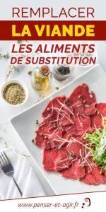 Remplacer la viande : les aliments de substitution