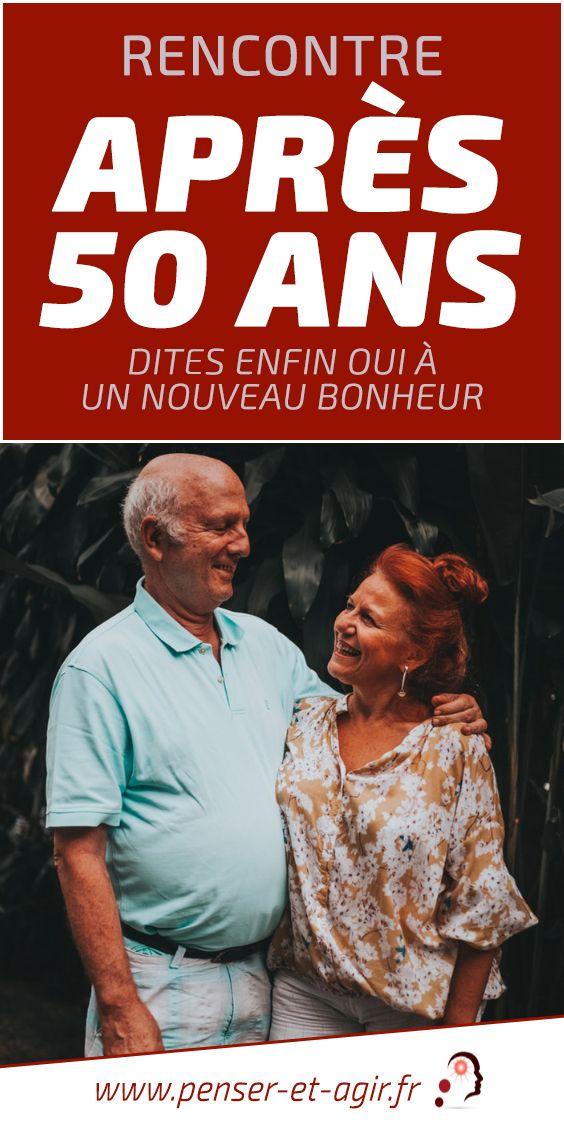 Rencontre après 50 ans : dites enfin OUI à un nouveau bonheur  L'amour n'a pas d'âge et c'est désormais confirmé ! Faire une belle rencontre à 50 ans ? Oui, c'est possible et c'est même à la portée de tout le monde.