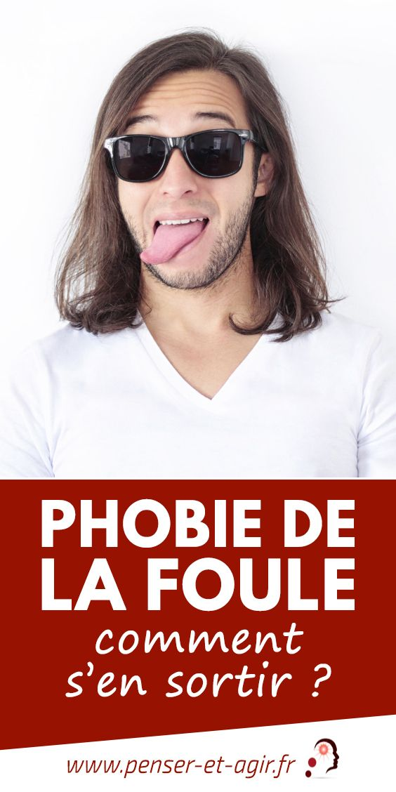 Phobie de la foule : comment s\'en sortir ?  La peur de la foule est une forme de phobie sociale. Elle est une source d'angoisse et d'anxiété qui empêche de profiter de la vie en société.