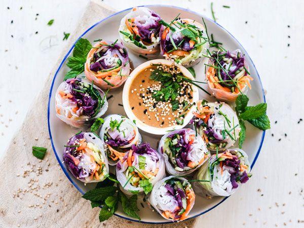 repas végétarien rapide