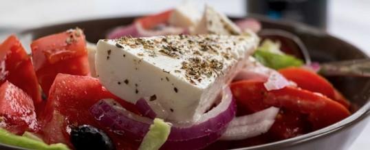 Une salade végétarienne pour une assiette 100% healthy