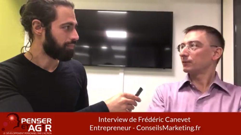 Frédéric Canevet : Comment créer son entreprise tout en étant salarié ? (Interview)