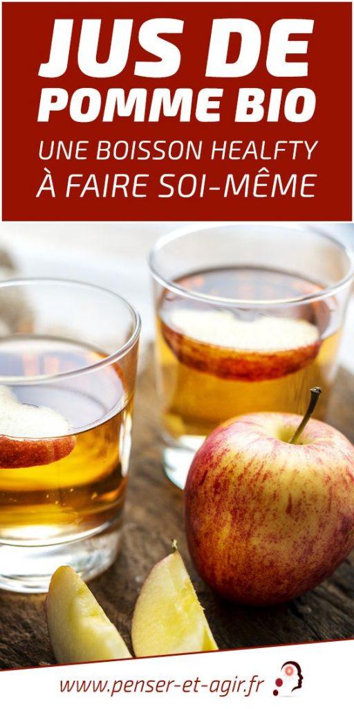 Jus de pomme bio : une boisson healfty à faire soi-même
