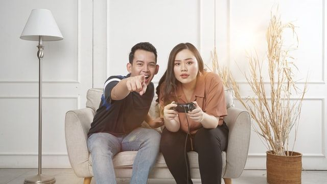 jeux vidéo en couple