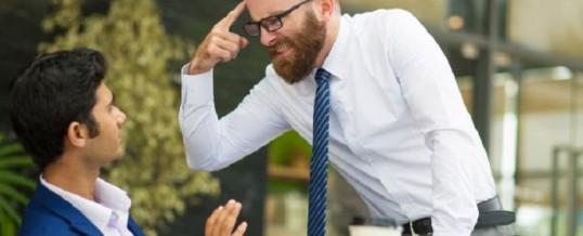 Manager toxique: comment le reconnaitre et lui faire face?