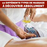 Massage thérapeutique: 10 différents types de massage à découvrir absolument