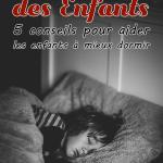Sommeil des enfants: 5 conseils pour aider les enfants à mieux dormir