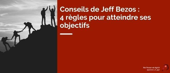 Conseils de Jeff Bezos