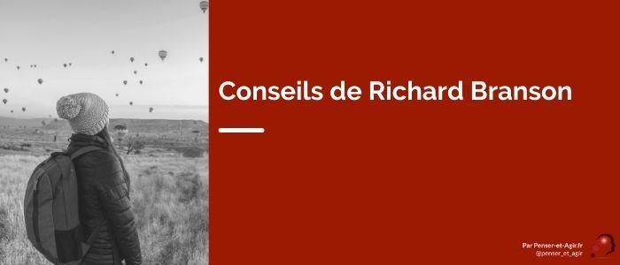 Conseils de Richard Branson