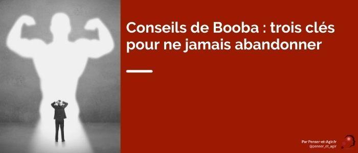 Conseils de Booba